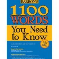 دانلود لغات ۱۱۰۰ واژه ضروری بارونز با معادل انگلیسی و ترجمه فارسی