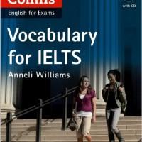 کتاب همه کاره Collins Vocabulary for IELTS با پوشش لغات آیلتس و چهار مهارت / دو کتاب در یک پست