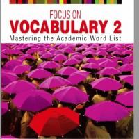دانلود ترجمه فارسی و تلفظ انگلیسی لغات کتاب Focus on Vocabulary 2