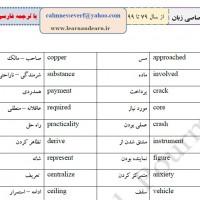۱۶۰۰ لغت پرتکرار کنکورهای منحصرا زبان از سال ۱۳۷۹ تا ۱۳۹۹ و مناسب برای انواع آزمون های انگلیسی